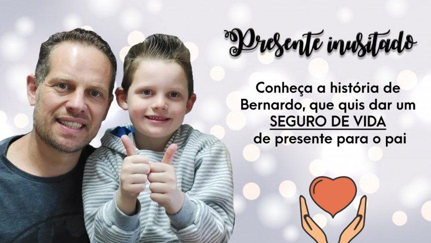 Fernando e o filho Bernardo: conheça esta história.