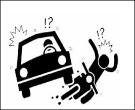 Os motociclistas estão envolvidos em quase todos os acidentes.