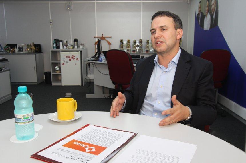 Presidente do Sindseg-PR/MS, Altevir Dias do Prado.