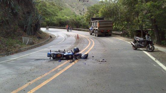 As motos são as que mais se envolvem em acidentes de trânsito.